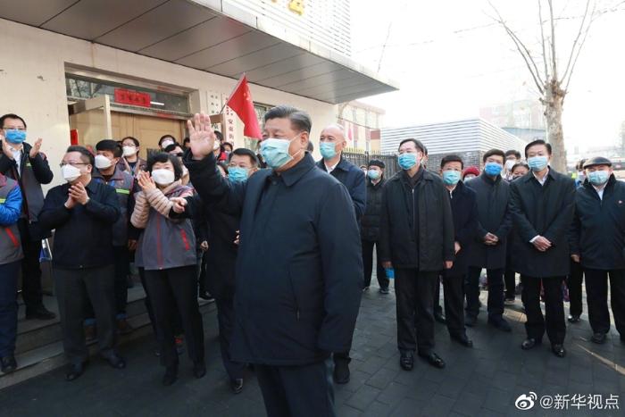 习近平在北京调研指导新冠肺炎疫情防控工作7