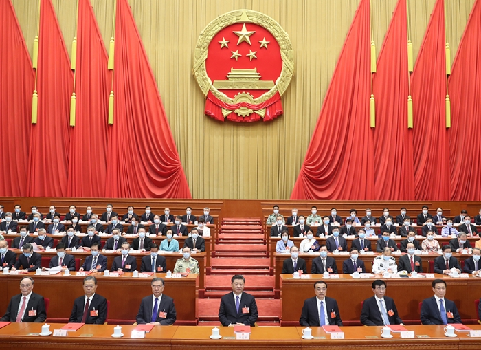 十三届全国人大三次会议在京闭幕1