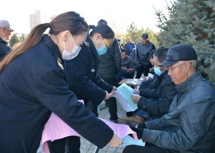 内蒙古西乌旗开展医疗器械安全宣传周活动
