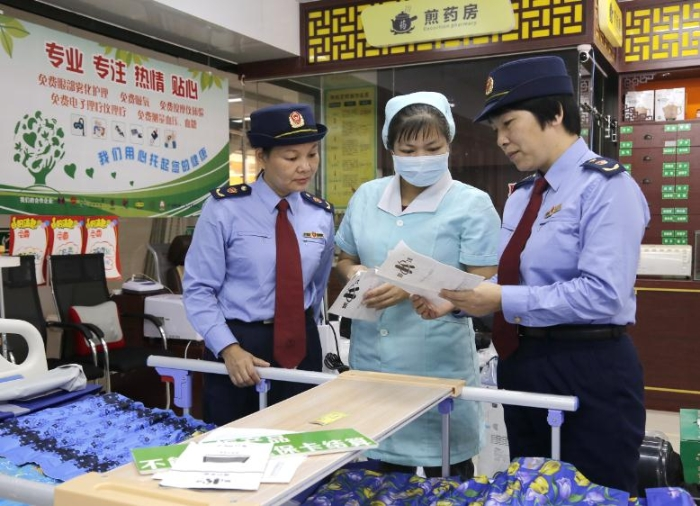 广西防城港市开展医疗器械经营企业检查