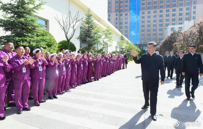 习近平赴青海考察调研